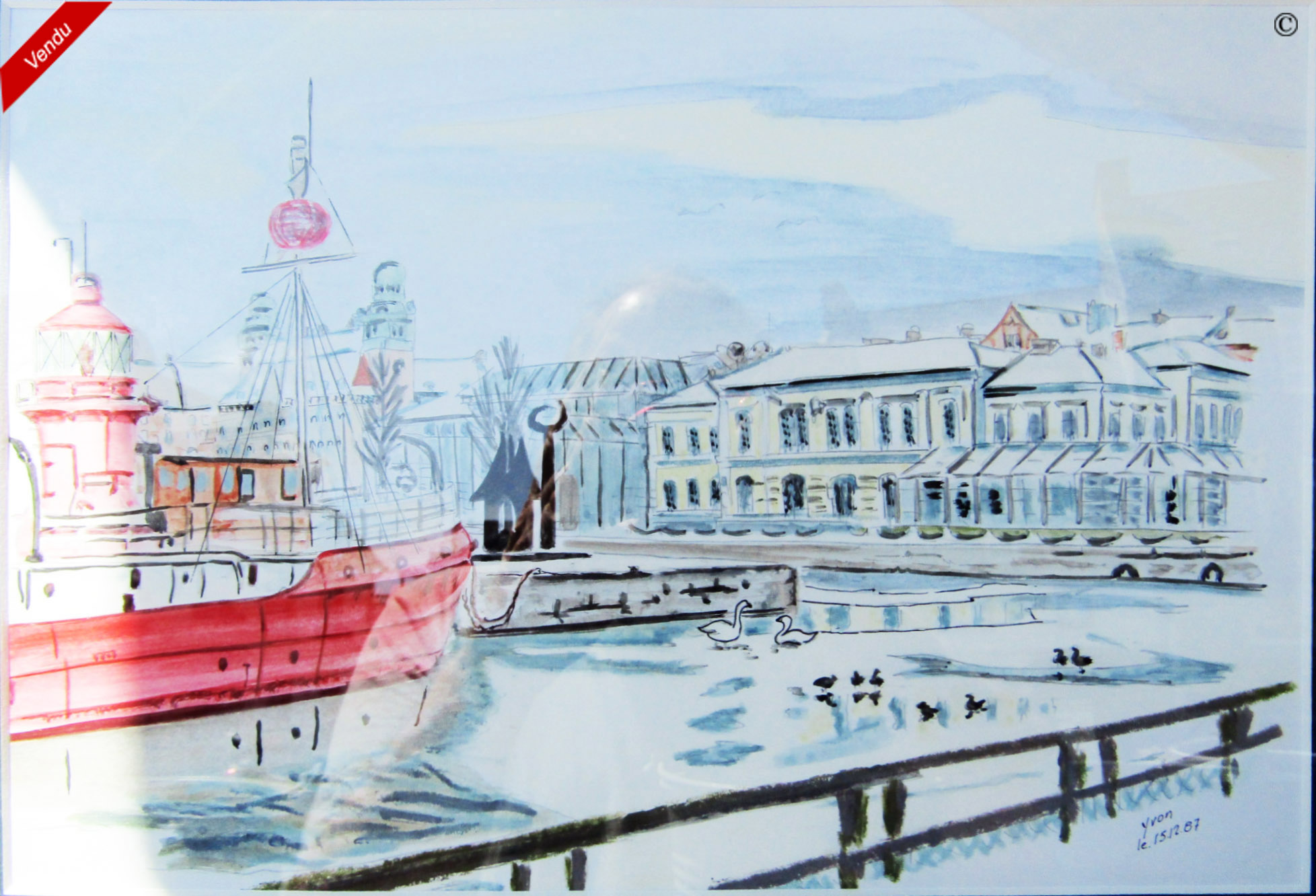 COPENHAGUE::Aquarelle
